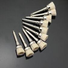 50 Pcs Dental Bowl Type Bristles Latch Flat Polishing Polisher Prophy Brush