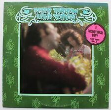 Peter Yarrow Peter Paul & Mary WBros DJ Solo LP 1975 Muscle Shoals