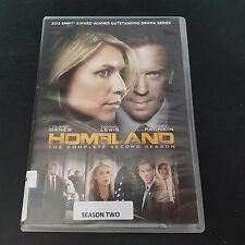 HOMELAND The Complete Second Season two 2 ex library 4 DVD Set  HOME LAND