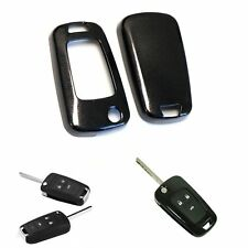 Black Exact Fit Glossy Smart Key Fob Shell Cover For Buick Chevrolet GMC 3 4 Key