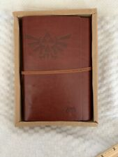 Legend of Zelda Notebook Leather Cover Journal Sketching Diary NEW  -  #20203