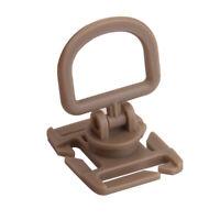 10  Tactical 360 Rotating MOLLE Webbing Buckle Locking Carabiner Backpack