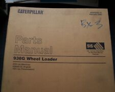 Cat Caterpillar 938g Wheel Loader Parts Manual Book Catalog List Front End Spare