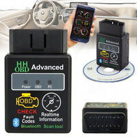 OBD2 ELM327 V2.1 Bluetooth Car Scanner Android  Auto Diagnostic Scan Tool Hot