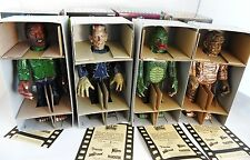 Universal Monster tin toy wind up wolfman creature mummy frankenstein 4pcs set
