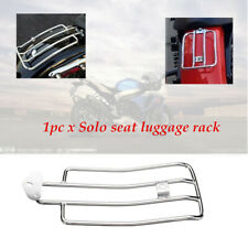 1pcs Motorcycle Chrome Solo Seat Rear Fender Luggage Rack Support Shelf Durable