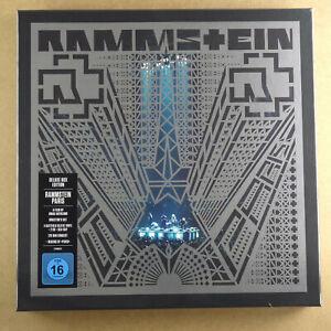 RAMMSTEIN - Paris ***RARE 4 x Vinyl-LP Box + 2CD + Blu-ray***NEW***sealed***