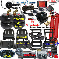Rear Suspension Air Bag Towing Kit 1999-2004 Ford F250/350 2wd/4wd Over Load kit
