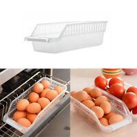 Kitchen Refrigerator Space Saver Organizer Slide Shelf Rack Holder Rack Storage