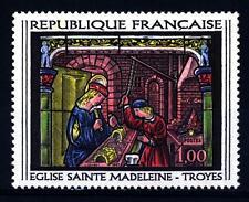 FRANCE - FRANCIA - 1967 - Da una vetrata del  16° secolo nella chiesa di Sainte