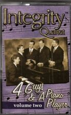 "INTEGRITY QUARTET.....""4 GUYS & A PIANO PLAYER VOL. TWO"".....OOP GOSPEL CASSETTE"