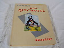 DON QUICHOTTE de la Manche - 1960 - illustrations L. BAILLY
