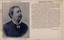 #ONEGLIA: EDMONDO DE AMICIS- Italiani Illustri