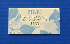 Palau (#132b) 1987 Indigenous Flowers MNH booklet