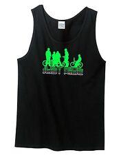JUST RIDE BMX BIKE TANK TOP SINGLET SHIRT RACE BICYCLE FREESTYLE KINK GT HARO