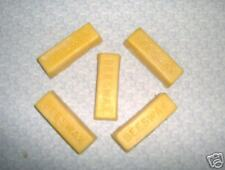 100% Pure Beeswax ~5 oz. block~ Bees wax~FREE SHIPPING