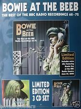 """DAVID BOWIE """"AT THE BEEB"""" U.S. PROMO POSTER - Glam Art Rock Music"""