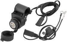 BikeMaster Dual USB Port/Plug Charger iphone ipod droid ipad tender free ship