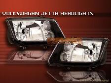 1999-2005 00 01 02 03 VW JETTA HEADLIGHTS JDM BLACK NEW