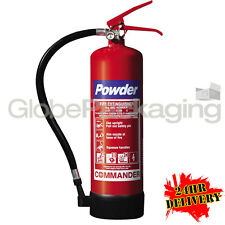4KG POWDER FIRE EXTINGUISHER CE MARKED INDUSTRIAL USE