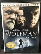 The Wolfman (DVD, 2010,Unrated Directors Cut, Bilingual)-Horror