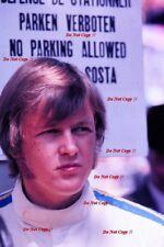 Ronnie Peterson Portrait Monaco F3 1968 Photograph 1
