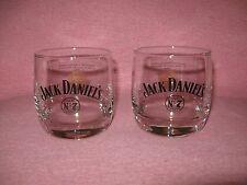 2 1904 Gold Medal Award Jack Daniel's Old No 7 Whiskey Lowball Rocks Glasses
