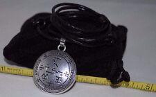 Archangel Samael Sigil Seal of King Solomon Talisman Pendant Charm Necklace
