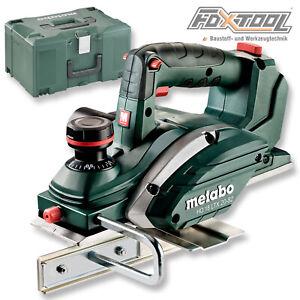 Metabo Akku-Hobel HO 18 LTX 20-82 [Solo +Metaloc Koffer] Hobelmaschine Falzhobel