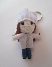 Chef Cookman  Voodoo String Doll Keychain Ornament Accessory