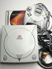 Sega Dreamcast HKT-3020 White Console w/ Controller & Cables + Web Browser Disc