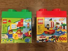 New Sealed in Box LEGO® & Duplo Creative 85 & 600 Building Set 4627 4628