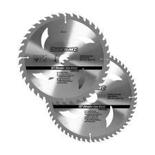 Silverline Hartmetall-kreissägeblätter mit 40 U. 60 Zähnen 2er-pckg 250 X 30 R
