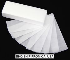100 Pcs Depilatory Waxing Paper Strips Hair Removal Paper Salon Spa