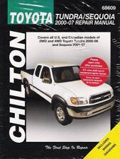 2000-2006 Toyota Tundra 2001-2007 Sequoia Chilton Repair Workshop Manual 9120
