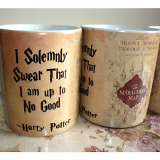 Harry Potter Marauder Map Color Change Coffee Mug Ceramic Cup Christmas Gift#