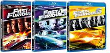FAST AND FURIOUS 4, 5, 6 (3 BLU-RAY) con Vin Diesel, Paul Walker, Dwayne Johnson