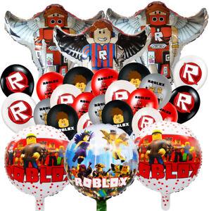 "12"" ROBLOX Latex Birthday Balloon Party Banner theme idea Balloon BRACELET GEL"