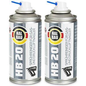 Reinigungsspray für Gasnagler Druckluftnagler Montana Paslode Pulsa HB20 HALBAU
