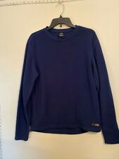 Euc men's Rei navy poly Thermal Top - size Large Rei quality keeps you Warm!
