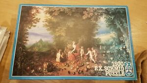 Vintage F.X. Schmid - 1500pc Jigsaw Puzzle - Jan breughel the elements earth