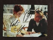 hand signed Leonardo DiCaprio Kate Winslet autographed photo 5*7 Titanic 112018