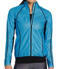 Gore Magnitude Active Shell Windstopper Womens Running Jacket, Blue, Medium, NEW