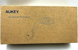 Aukey Magnetic Car Dashboard/Windshield Phone Mount 360°  Rotation Black NEW