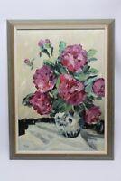 Gemälde Pfingstrosen in Vase