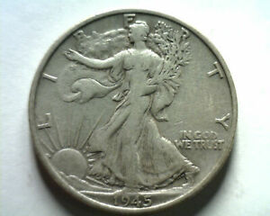 1945-S WALKING LIBERTY HALF VERY FINE /EXTRA FINE VF/XF VERY FINE/EXTREMELY FINE
