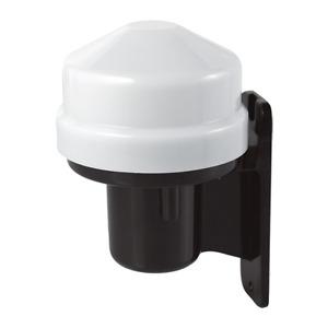 Ovia Photocell Photo Cell Outdoor Dusk till Dawn Sensor for Lighting - OVPC001BK