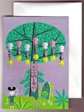 Disney Notecard with Envelope Shag Disneyland Tiki Room 40th Anniversary
