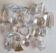 Lot de 12 bouchons pour carafe flacon en cristal et verre