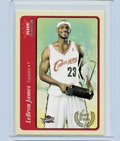 2004-05 FLEER TRADITION LEBRON JAMES 2ND YEAR ROOKIE CARD LAKERS GREAT #210